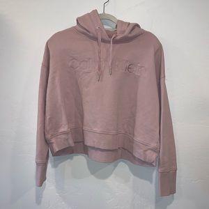 Pink Calvin Klein hoodie